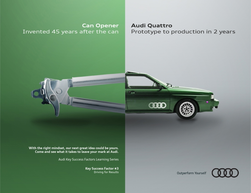 Audi 3 Can opener